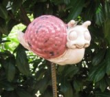 Maholiss - Schnecke Gartendekor